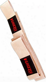 Grizzly Fitness Leather Lifting Straps - 1 Pair