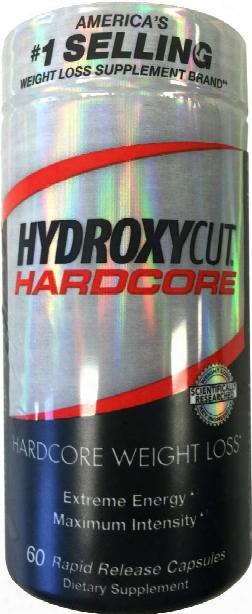 Hydroxycut Hydroxycut Hardcore - 60 Rapid Release Capsules
