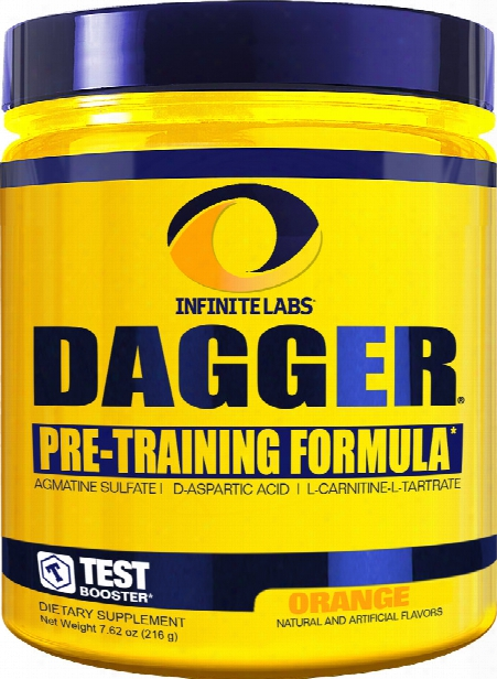 Infinite Labs Dagger Hp - 30 Servings Orange