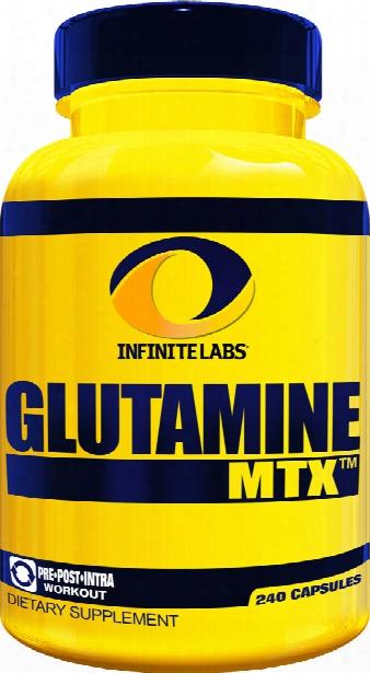 Infinite Labs Glutamine Mtx Caps - 240 Capsules