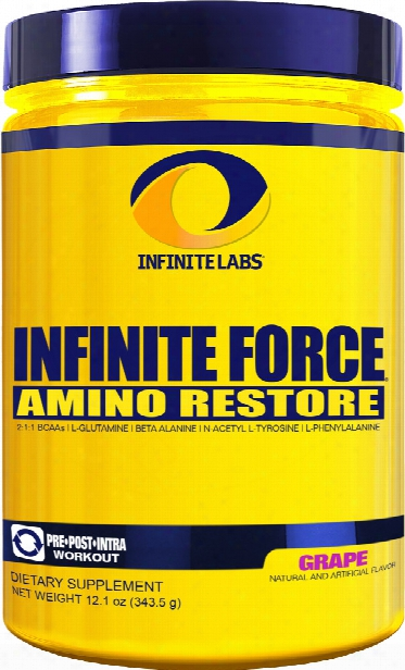 Infinite Labs Infinite Force - 30 Servings Grape