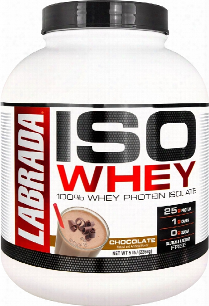 Labrada Nutrition Iso Whey - 5lbs Chocolate