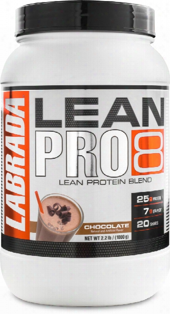 Labrada Nutrition Lean Pro8 - 5lb Chocolate
