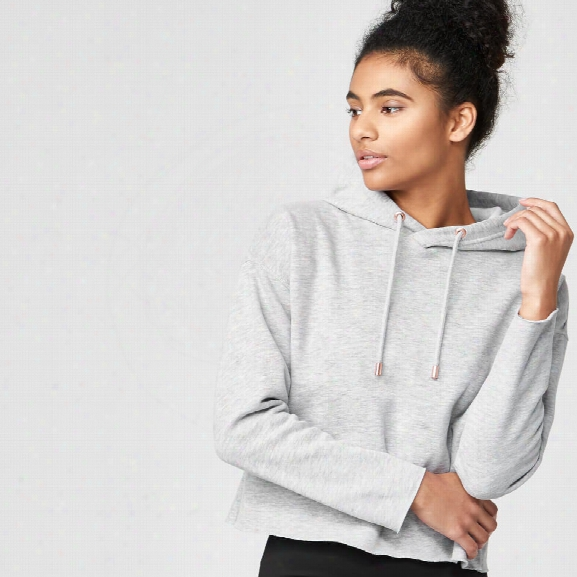 Luxe Classic Hoodie - Grey Marl - Xs