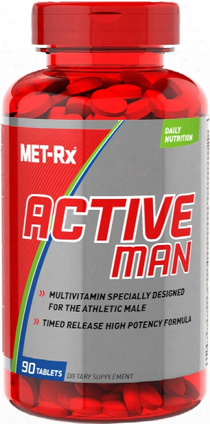 Me T-rx Active Man - 90 Tablets