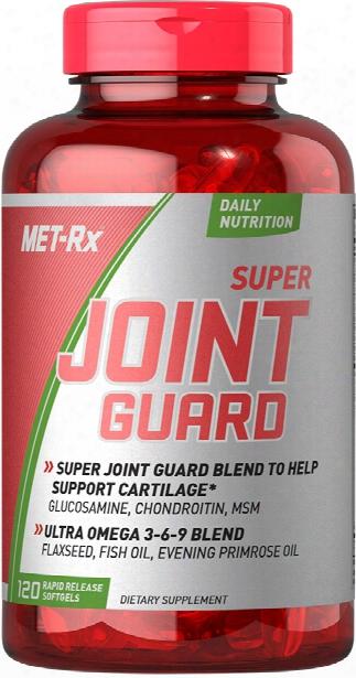 Met-rx Super Joint Guard - 120 Softgels