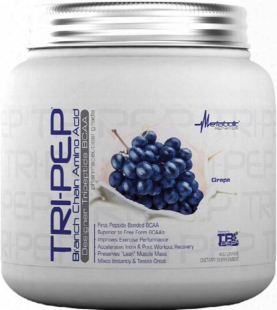 Metabolic Nutrition Tri-pep - 400g Grape
