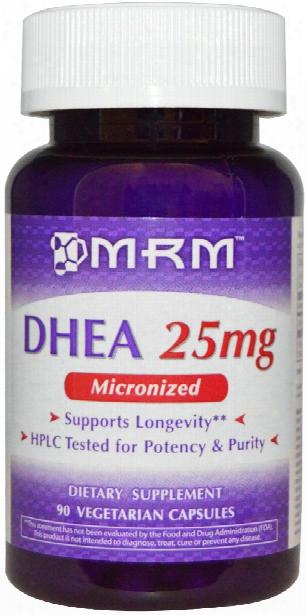 Mrm Micronized Dhea - 50mg - 90 Vcapsules