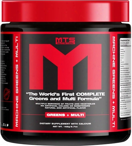 Mts Nutrition Machine Greens + Multi - 30 Servings