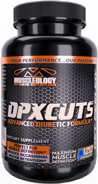 Muscleology Dpx Cuts - 120 Capsules