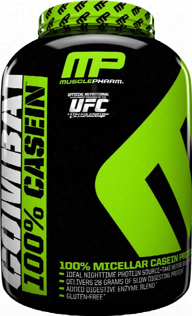 Musclepharm Combat 100% Casein - 4lbs Chocolate Milk