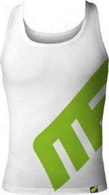 Musclepharm Sportswear Mp Logo Tank - Xlarge White