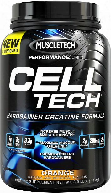 Muscletech Cell-tech - 3lbs Orange