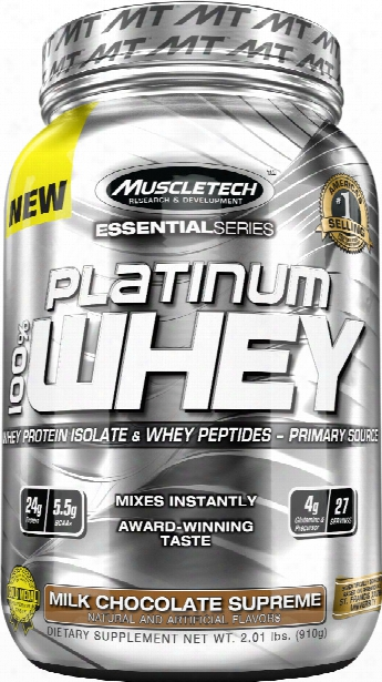 Muscletech Platinum 100% Whey - 2lbs Cookies And Cream