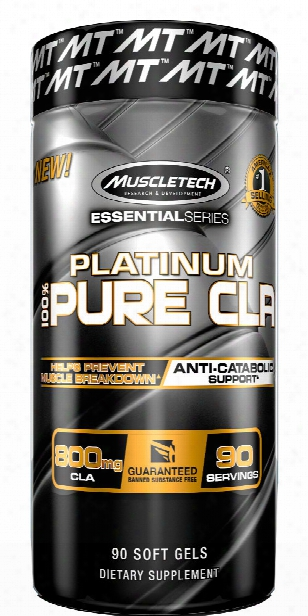 Muscletech Platinum Pure Cla - 90 Softgels