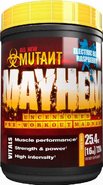 Mutant Mayhem - 1.6lbs Electric Blue Raspberry