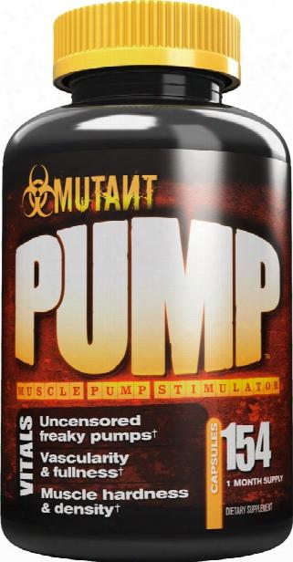 Mutant Pump - 154 Capsules