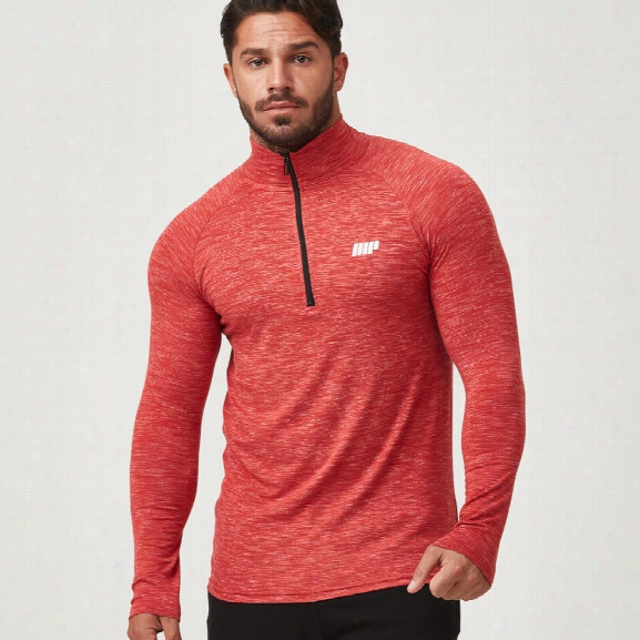 Myprotein Men's Performance 1/4 Zip Top - Red - S