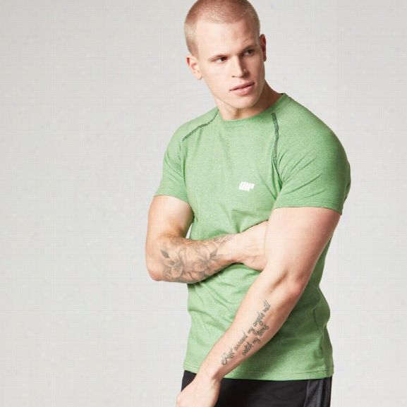 Myprotein Men's Performance Raglan Sleeve T-shirt - Green - Xl