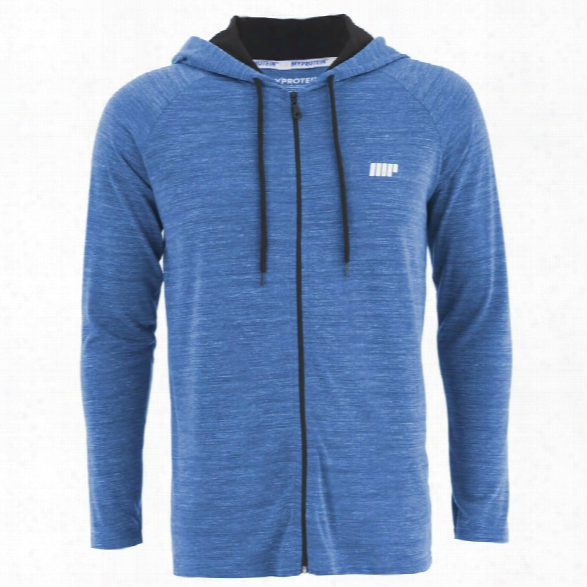 Myprotein Men's Performance Zip Hoodie - Blue Marl, Xxl