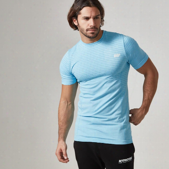 Myprotein Men's Seamless T-shirt - Light Blue, Xxl