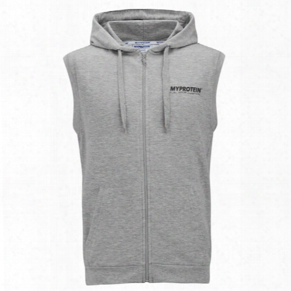 Myprotein Men's Sleeveless Hoodie - Grey Marl, M