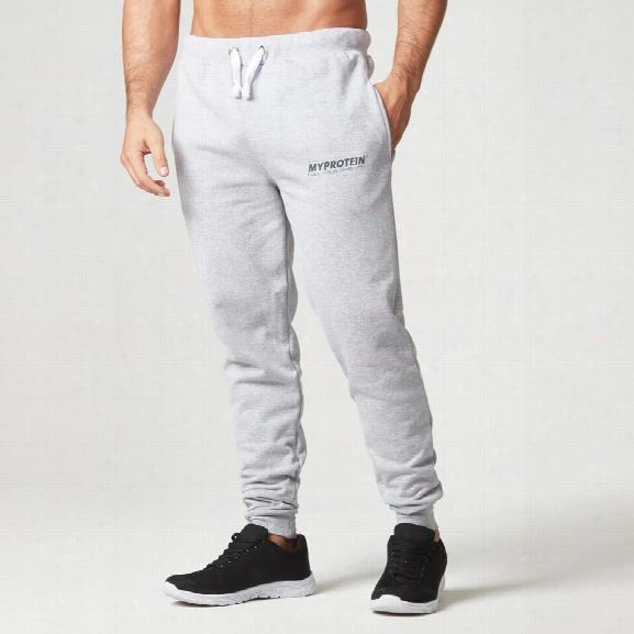 Myprotein Slim Fit Sweatpants, Grey Marl, Xl