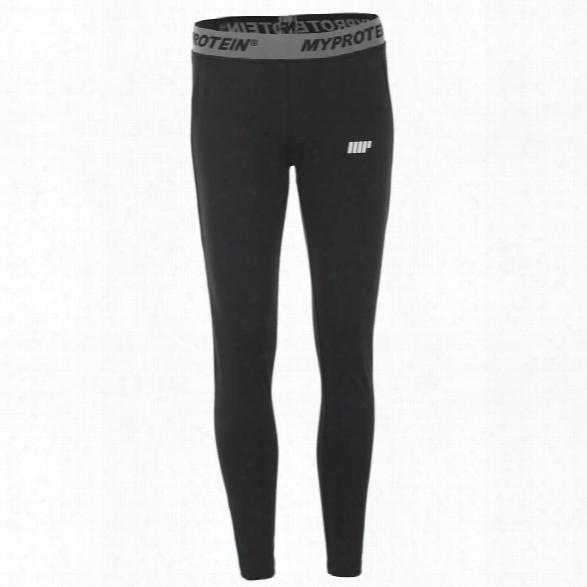Myprotein Women's Core Leggings - Black, Xl