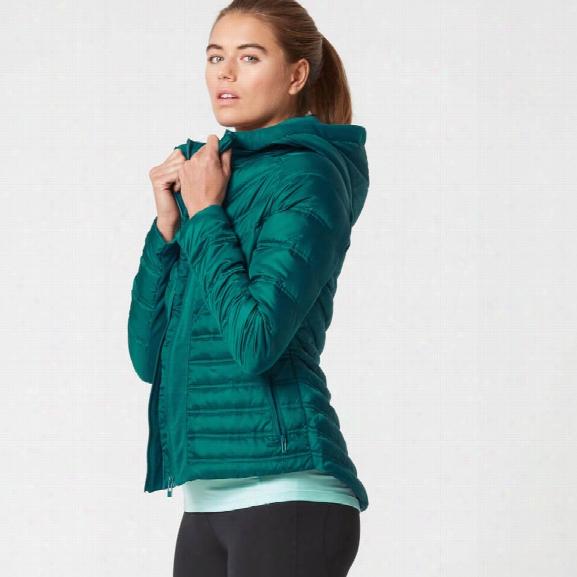 Myprotein Women's Lightweight Puffa Jacket - Teal - L