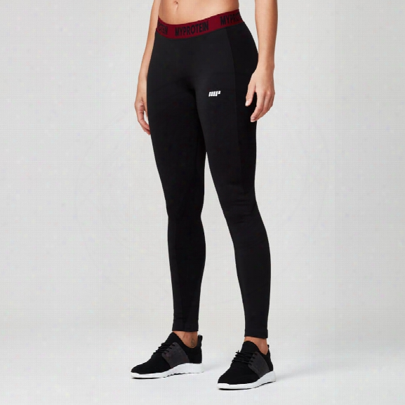 Myprotein Women's Seamless Leggings - Black, Xs