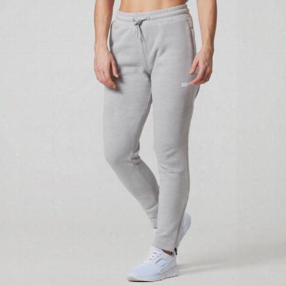 Myprotein Women's Tru-fit Slim Fit Joggers - Grey Marl - Xs