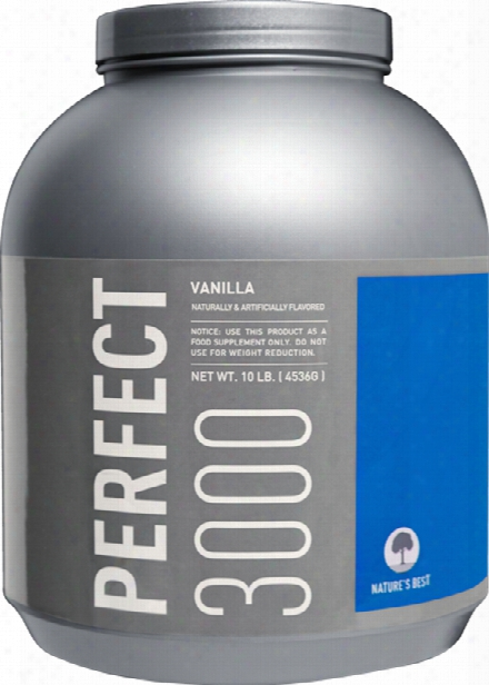 Nature's Best Perfect 3000 - 10lbs Vanill