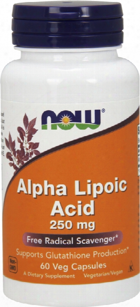 Now Foods Alpha Lipoic Acid 250 - 60 Vcapsules