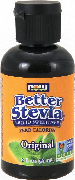 Now Foods Better Stevia Original - 2  Fl. Oz.
