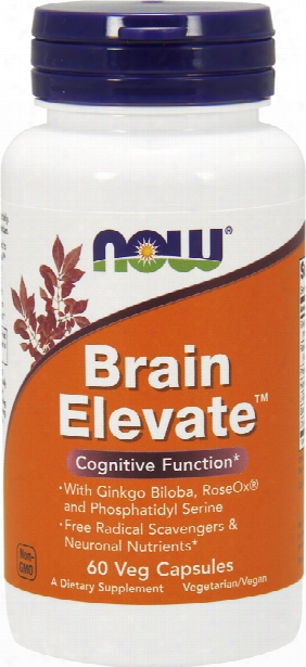Now Foods Brain Elevate - 60 Vcapsules