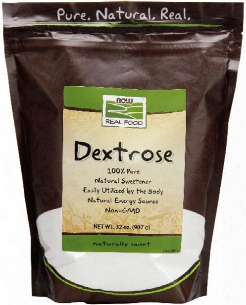 Now Foods Dextrose - 2lbs Bag
