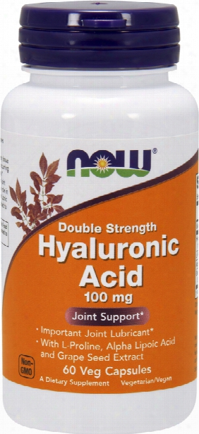 Now Foods Hyaluronic Acid - 60 Vcapsules