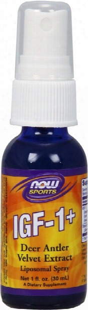 Now Foods Igf-1+ Liposomal Spray - 1 Fl. Oz.