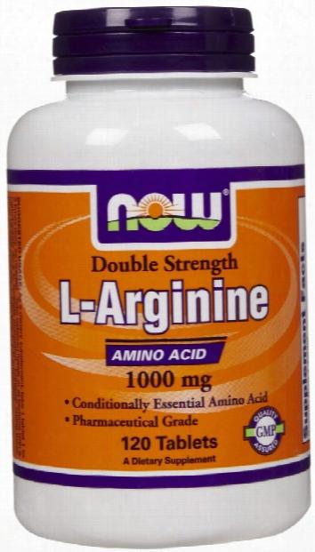 Now Foods L-arginine - 120 Tablets