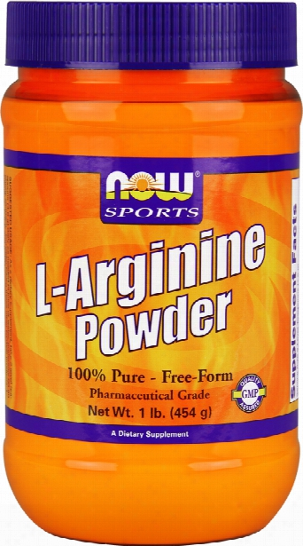 Now Foods L-arginine Powder - 1lb Tub