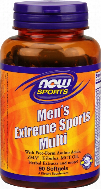 Now Foods Men's Extreme Sports Multi - 90 Softgels