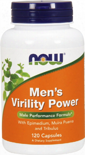Now Foods Men's Virility Power - 120 Capsules