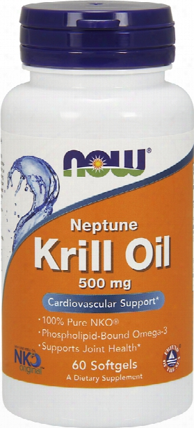 Now Foods Neptune Krill Oil - 60 Softgels