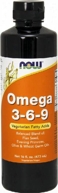 Now Foods Omega 3-6-9 Mellifluous - 16 Fl. Oz.