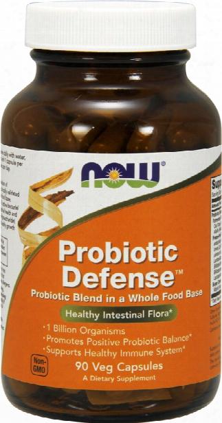 Now Foods Probiotic Defense - 90 Vcapsules