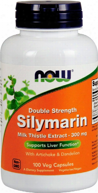 Now Foods Silymarin (milk Thist Le Extract) - 300mg/100 Vcapsules