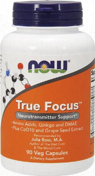 Now Foods True Focus - 90 Vcapsules