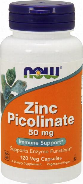 Now Foods Zinc Picolinate - 120 Capsules
