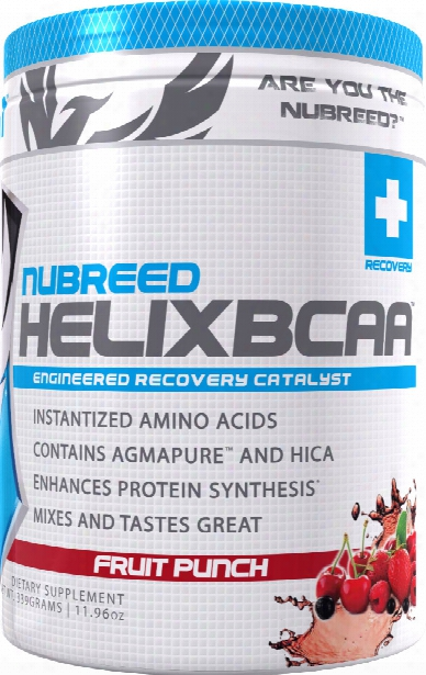Nubreed Nutrition Helix Bcaa - 30 Servings Fruit Punch