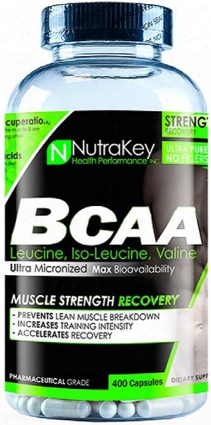 Nutrakey Bcaa - 400 Capsules